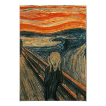 masterpiece_museum The Scream - Edvard Munch Card