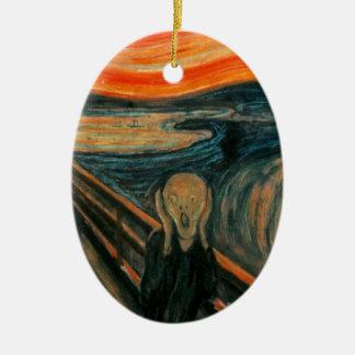 The Scream (Edvard Munch) Ceramic Ornament