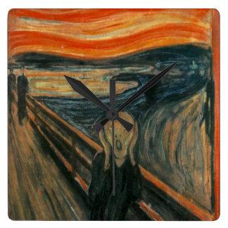 The Scream - Edvard Munch Clocks