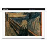 """The Scream - Edvard Munch Decals For 17"""" Laptops"""