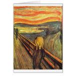 The Scream - Edvard Munch Greeting Card