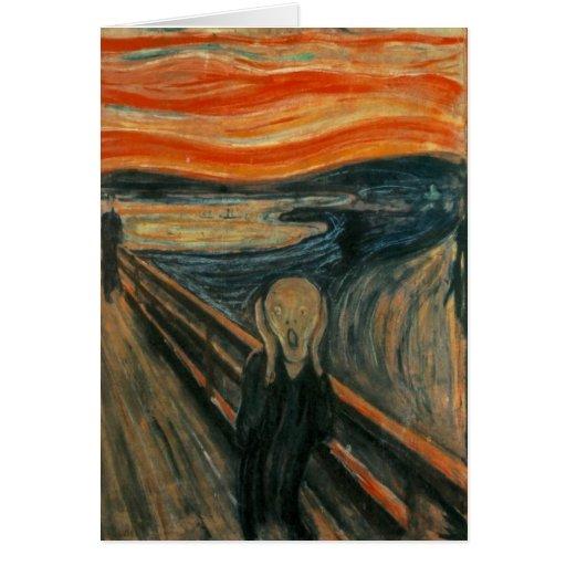 The Scream - Edvard Munch Greeting Cards