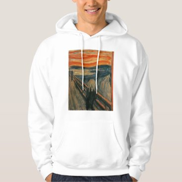 masterpiece_museum The Scream - Edvard Munch Hoodie