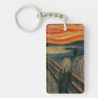 The Scream - Edvard Munch Rectangle Acrylic Key Chains