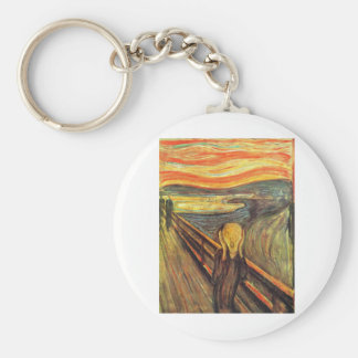 The Scream - Edvard Munch Key Chain
