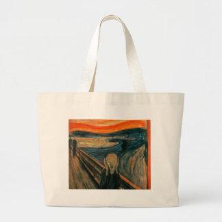 The Scream (Edvard Munch) Large Tote Bag