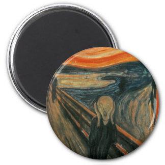 The Scream - Edvard Munch Magnet