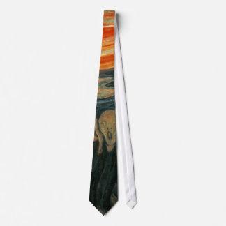 The Scream - Edvard Munch Neck Tie