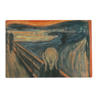 The Scream - Edvard Munch Laminated Placemat