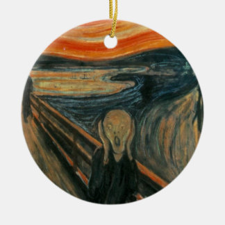 The Scream - Edvard Munch Christmas Tree Ornament