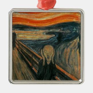 The Scream - Edvard Munch. Painting Artwork. Metal Ornament