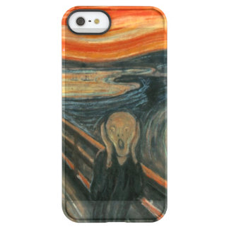 The Scream - Edvard Munch Permafrost iPhone SE/5/5s Case