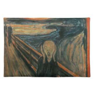 The Scream - Edvard Munch Placemats