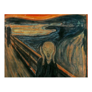 The Scream - Edvard Munch Post Cards