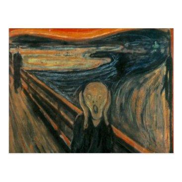 masterpiece_museum The Scream - Edvard Munch Postcard
