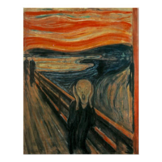 The Scream - Edvard Munch Poster