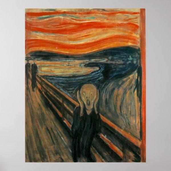 The Scream - Edvard Munch Poster
