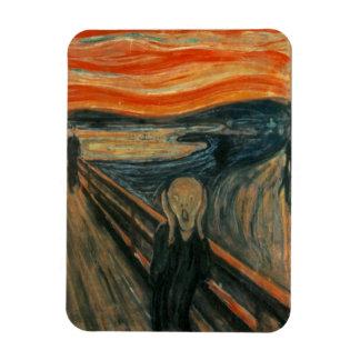 The Scream - Edvard Munch Rectangular Photo Magnet