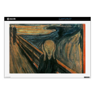 "The Scream - Edvard Munch Decals For 17"" Laptops"