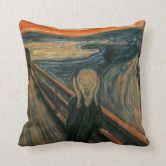 The Scream - Edvard Munch Throw Pillow