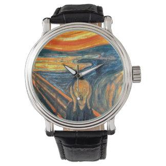 The Scream - Edvard Munch Wristwatches