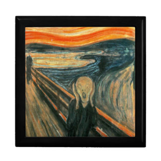 The Scream Edward Munch Screaming Jewelry Box