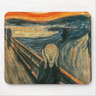 The Scream Edward Munch Screaming Mouse Pad