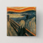 The Scream Edward Munch Screaming Pinback Button