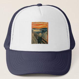 The Scream Edward Munch Screaming Trucker Hat