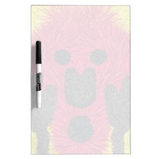 The Scream furry person Dry Erase Board