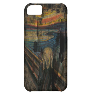 The Scream Grunge Paint iPhone 5  Case-Mate Case