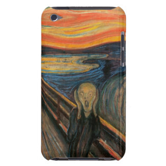 The Scream iPod Touch Barely There Case