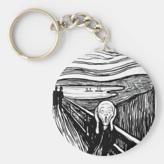 The Scream Keychain