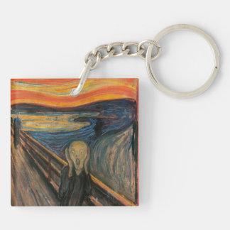 The Scream Keychain