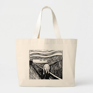 The Scream Large Tote Bag