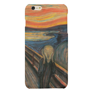 The Scream Matte iPhone 6 Plus Case
