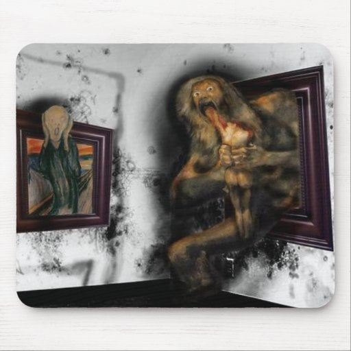 The Scream! Mouse Pad