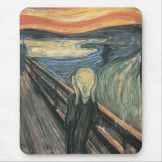 The Scream Mouse Pad