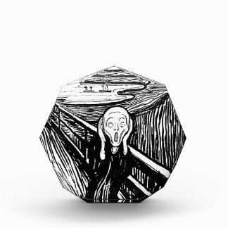 The Scream Paper Weight by Edvard Munch Acrylic Award
