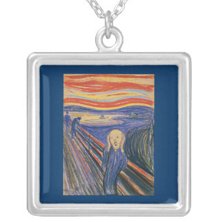 The Scream (pastel 1895) HD Necklace