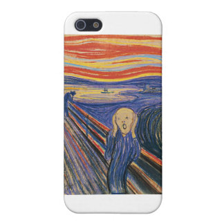 The Scream (pastel 1895) High Quality iPhone SE/5/5s Case