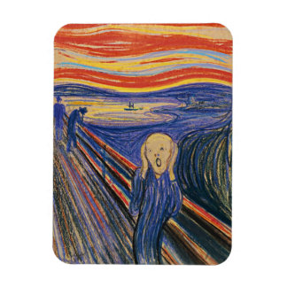 The Scream (pastel 1895) High Quality Magnet