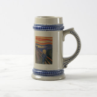The Scream (pastel 1895) High Quality 18 Oz Beer Stein