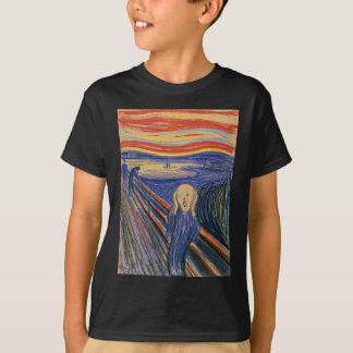The Scream (pastel 1895) High Quality T-Shirt