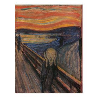 The Scream Post Card