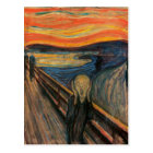 The Scream Postcard