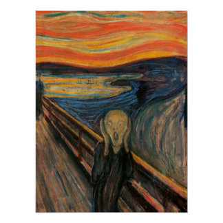 'The Scream' Poster