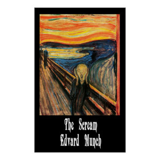 The Scream Posters