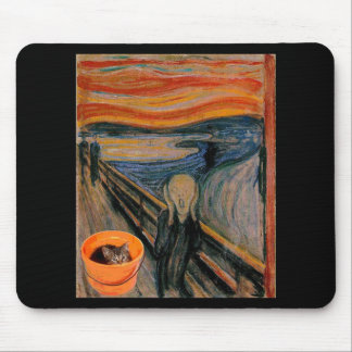 """The Scream"" re-visited Mouse Pad"