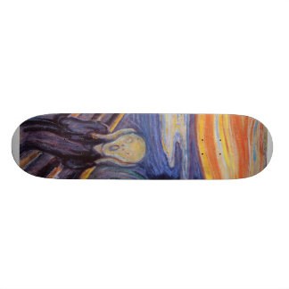 The Scream Skateboard